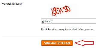 Gambar tutorial cara mengganti nama domain blog