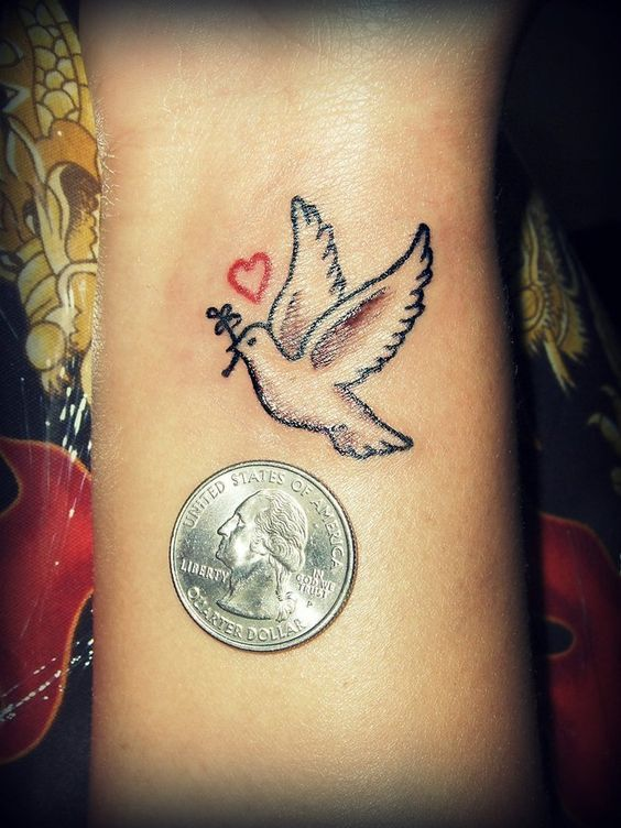 tatuajes de palomas