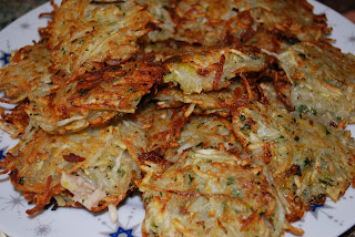 vegan latkes from VegNews