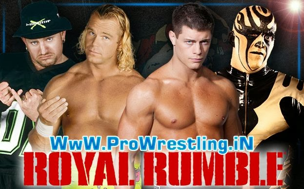 Royal Rumble 2014 » Goldust & Cody Rhodes vs Road Dogg & Billy Gunn (Tag Team Championship Match)