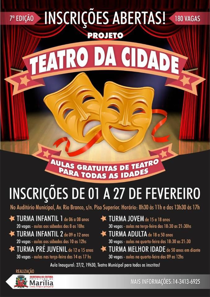 Teatro da Cidade 2018