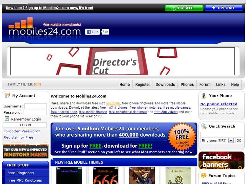 Ringtone Download Site Reviews