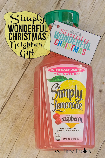 #simplylemonade, #neighborgift, #gift