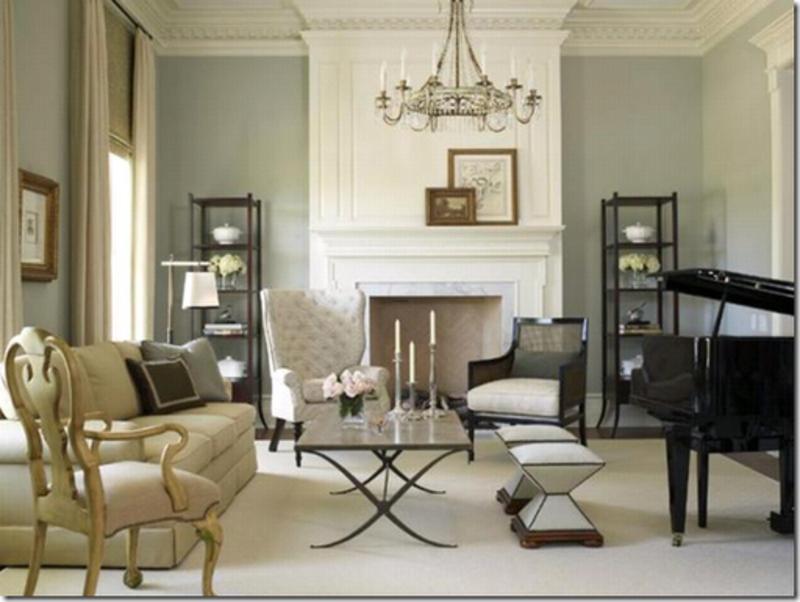 Bricolage e decora o 7 ideias para salas com piano for Baby grand piano in living room