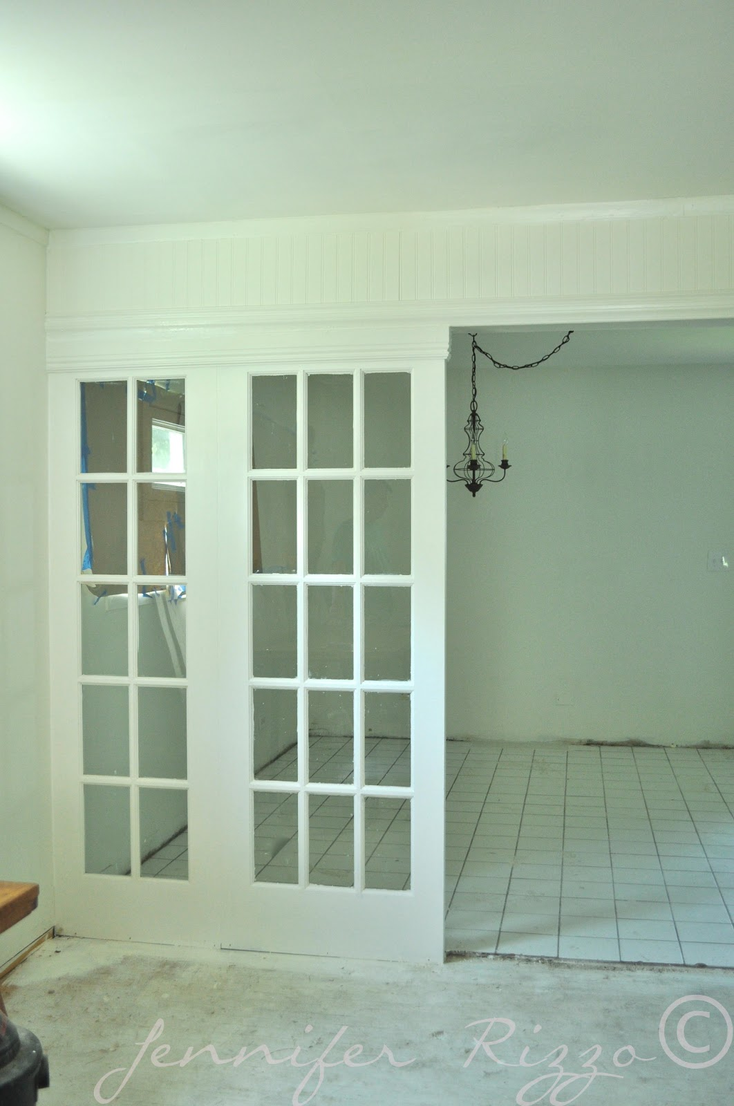 French Doors As Room Dividers.