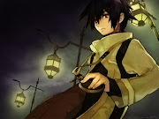 anime (anime dark gothic boy )