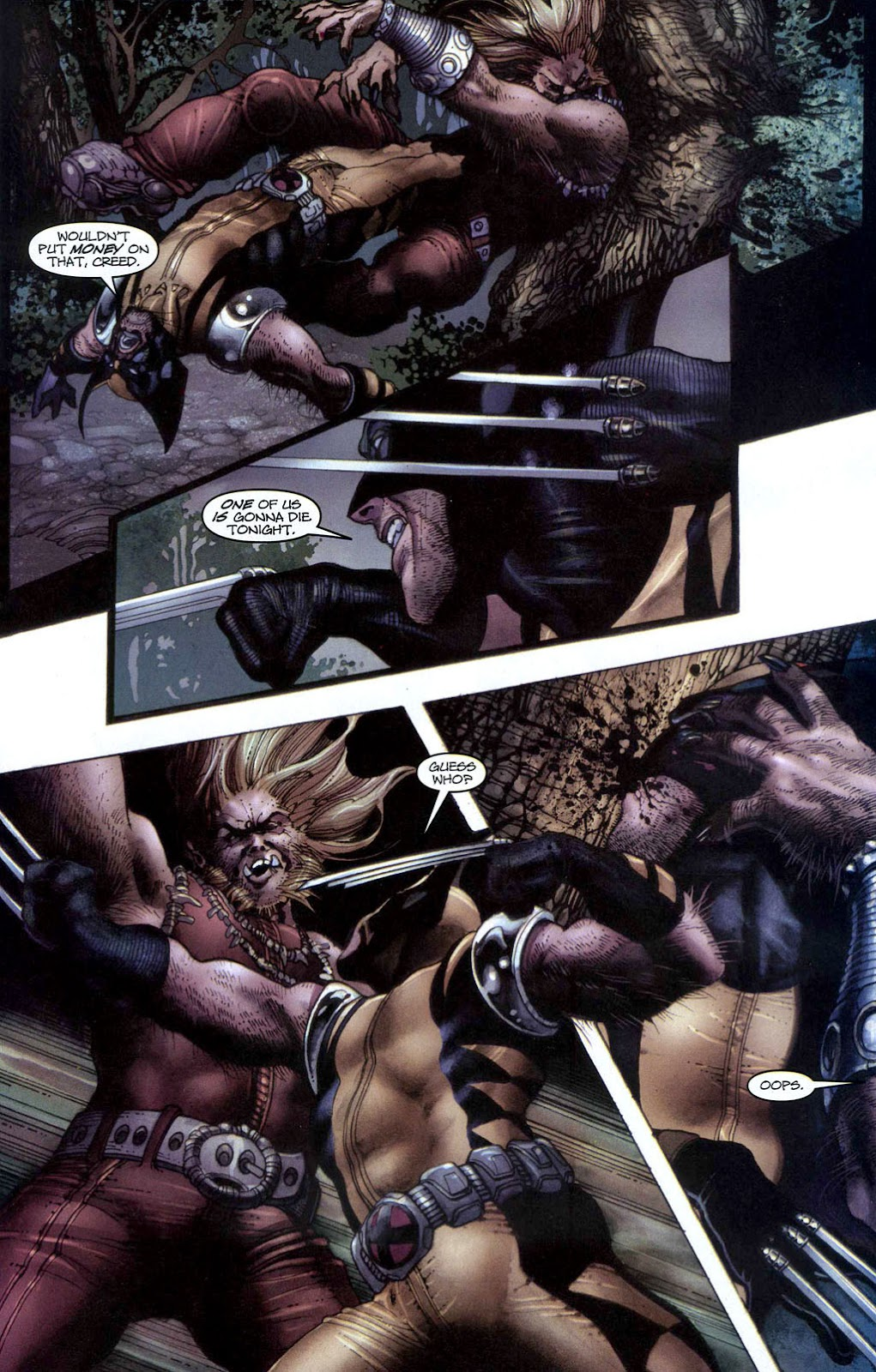 Read online Wolverine (2003) comic -  Issue #50 - 12