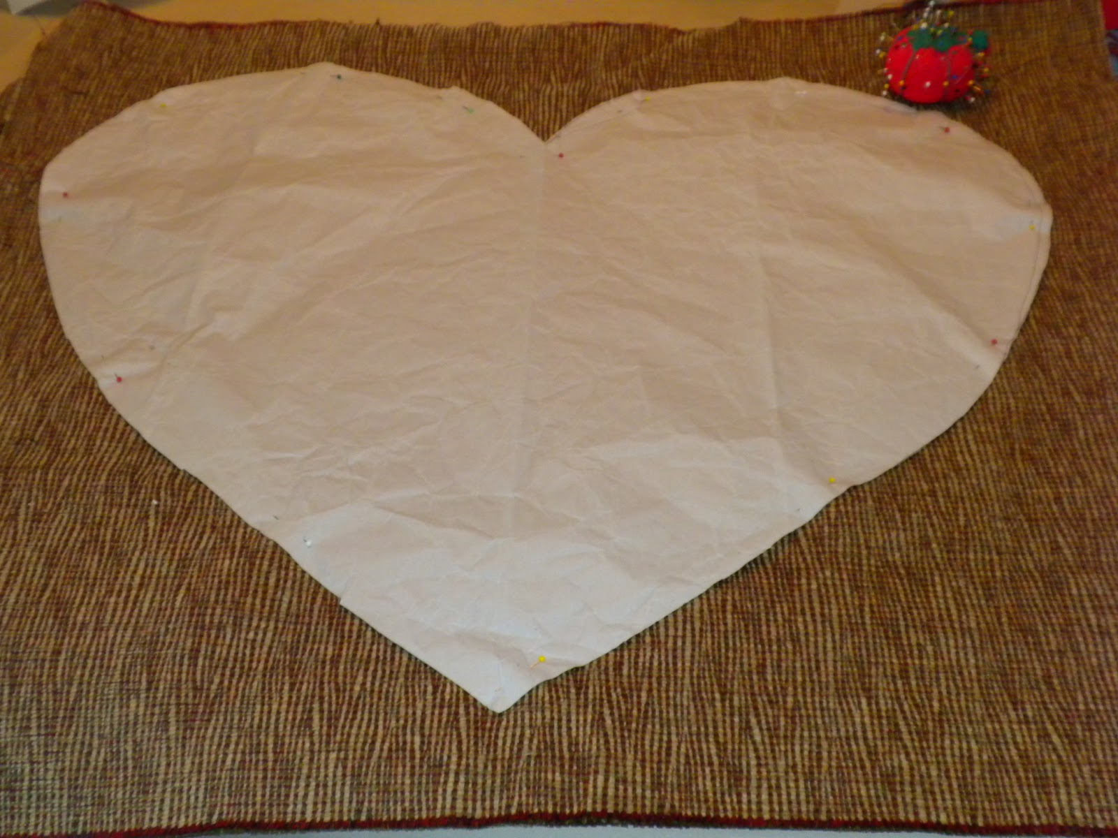 Heart Pillow Tutorial 1