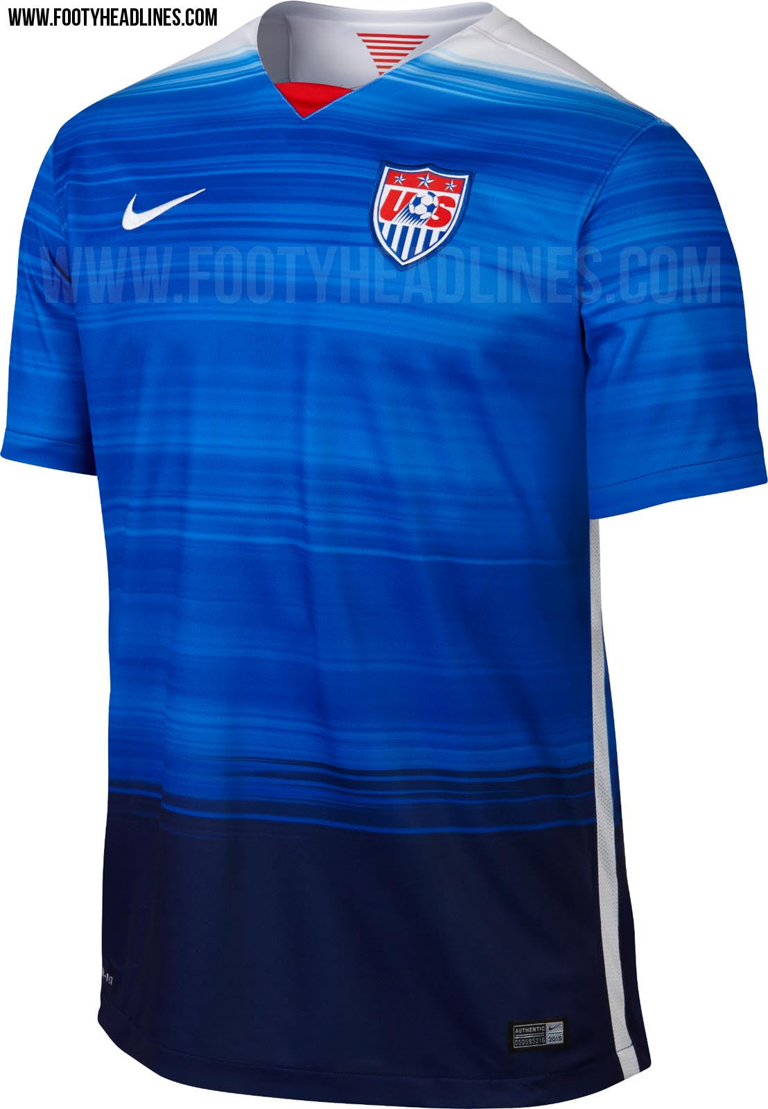The 2015 Away Kit For US Soccer Gets A High-Profile Leak | Chris ...