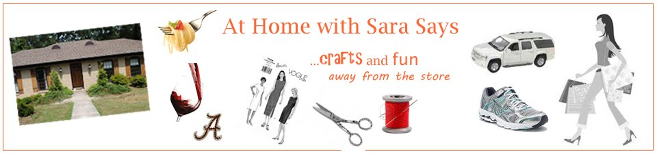 At Home with Sara Says