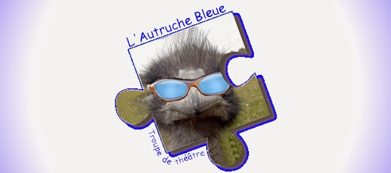 L'autruche Bleue