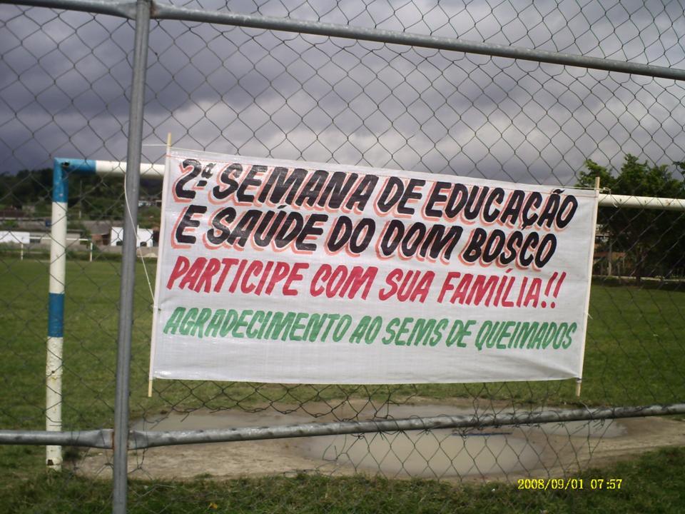 II SEMANA DE EDUCAÇÃO E SAÚDE DA E.E.D.BOSCO