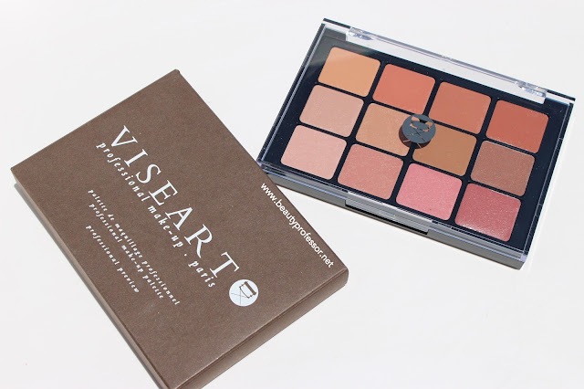 viseart nude lip palette swatches