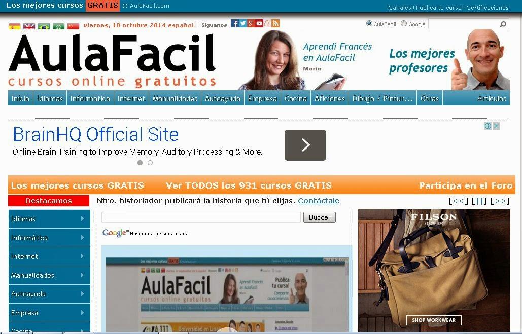 http://www.aulafacil.com/