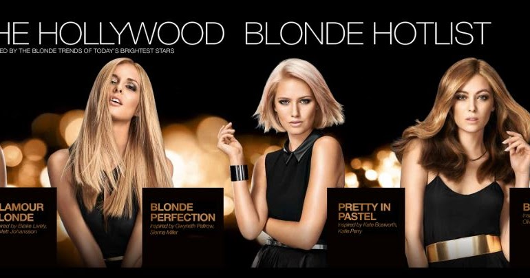 Join The Hollywood Blonde Hotlist With Schwarzkopf