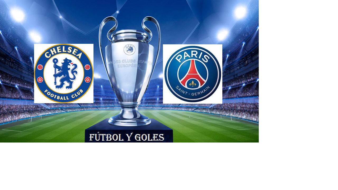 Chelsea Vs PSG (vuelta) - cuartos de final Uefa Champions League ...
