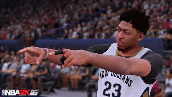 NBA 2K16 4K Screenshots - Anthony Davis