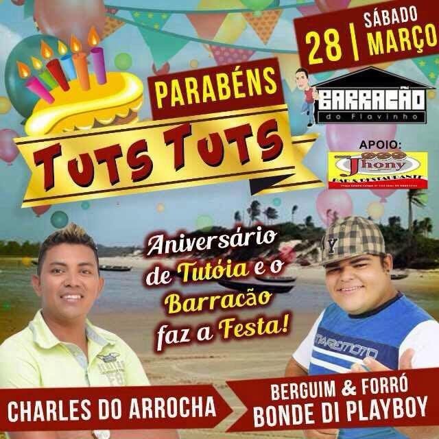 NOS 77 ANOS DE TUTÓIA!!!