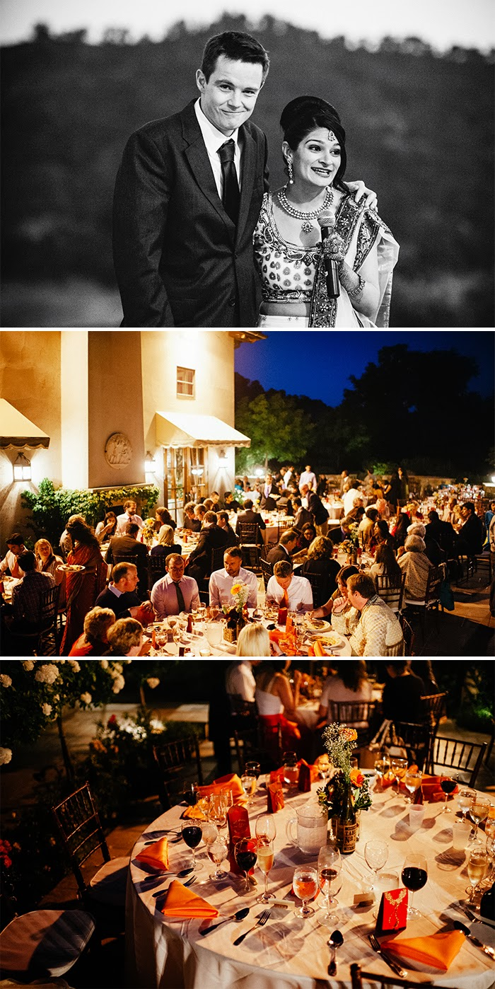 San Martin wedding reception Clos LaChance Winery