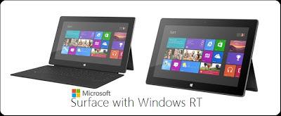 Microsoft Meluncurkan Surface dengan Windows RT