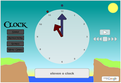 http://gamestolearnenglish.com/clock/