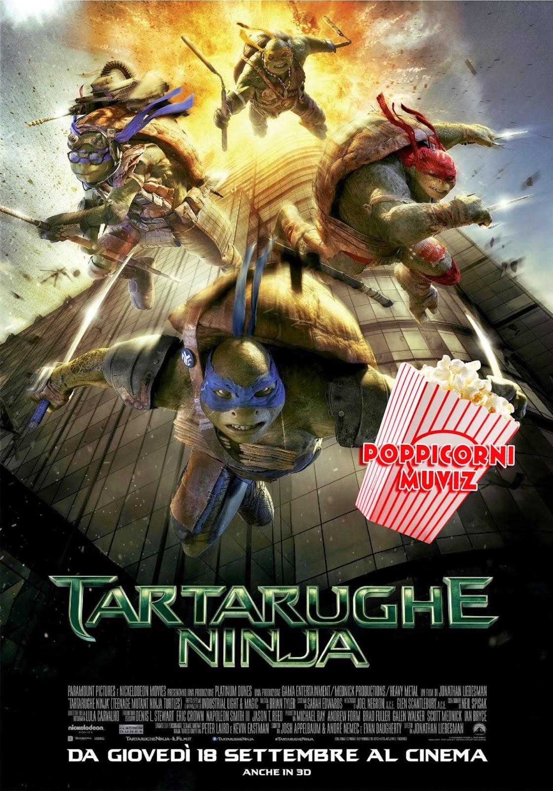 Tartarughe Ninja 2014 recensione