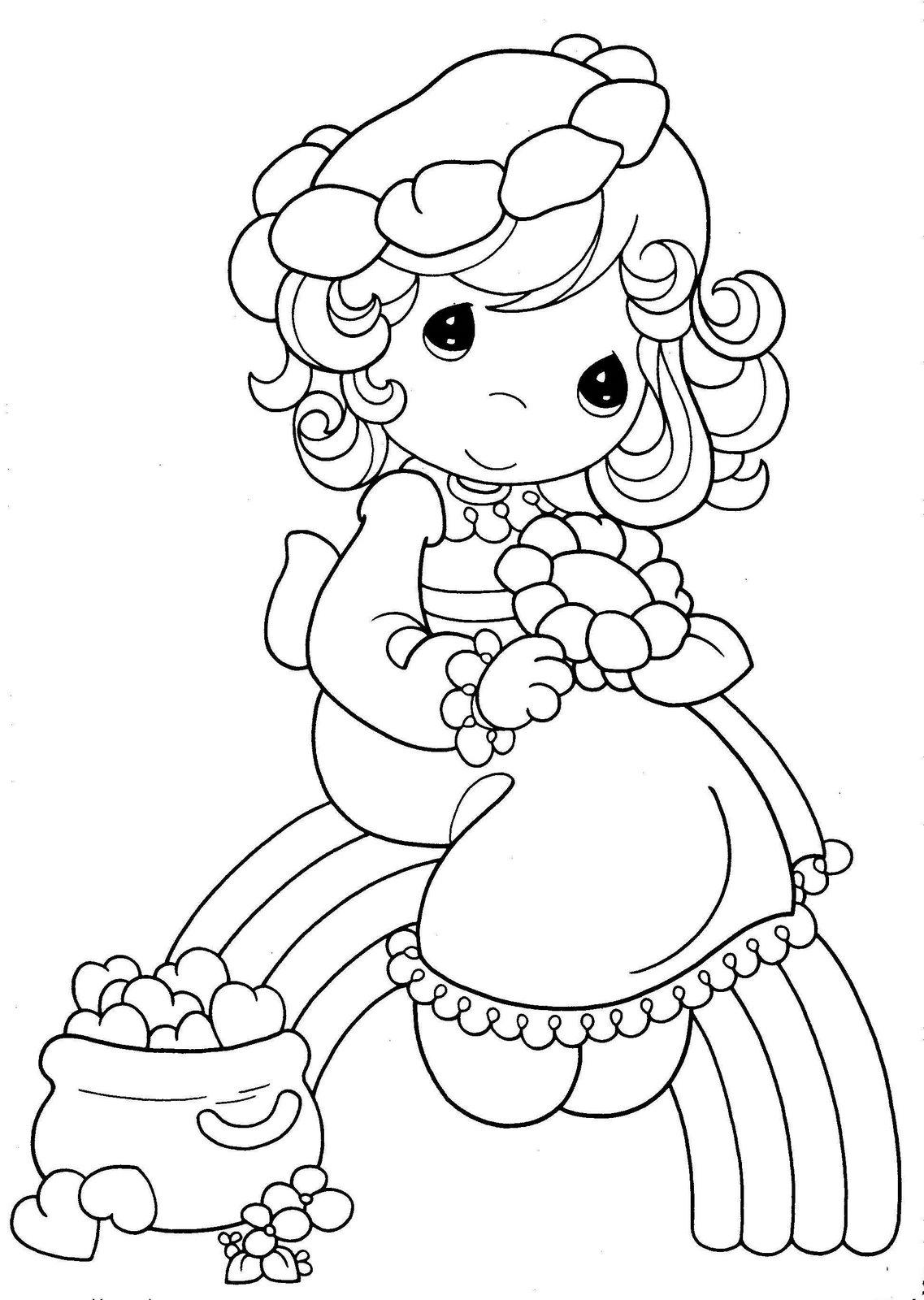 Dibujos para imprimir y colorear: Arcoiris para colorear