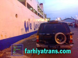 kirim kendaraan dengan kapal laut