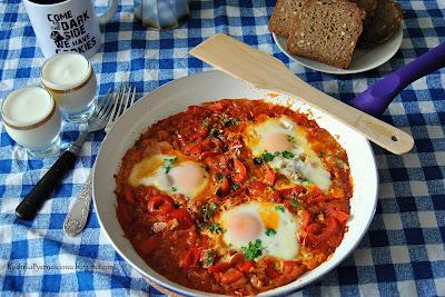 358. Szakszuka, jajka z warzywami na śniadanie po arabsku