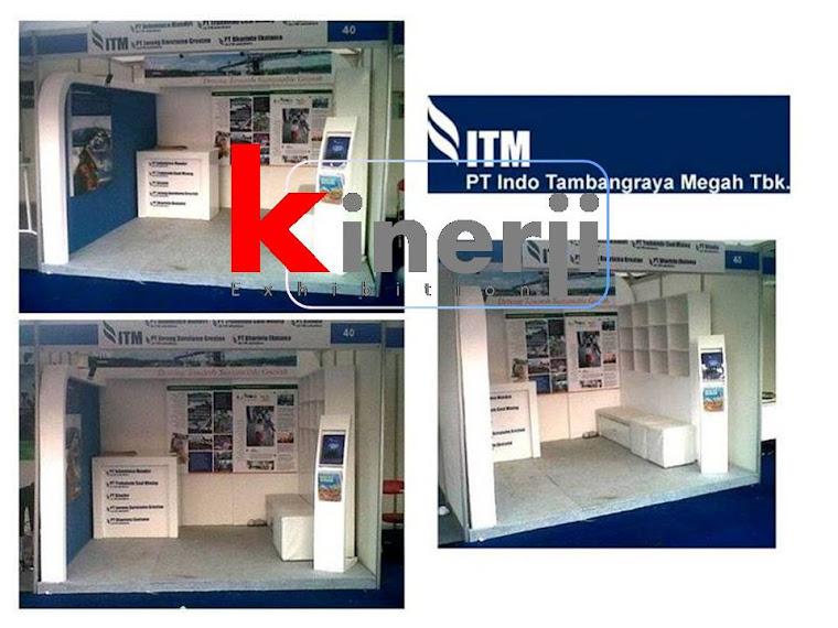 booth stand pameran @TMII
