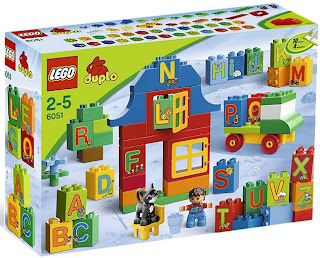 Lego Duplo Play with Letters Set