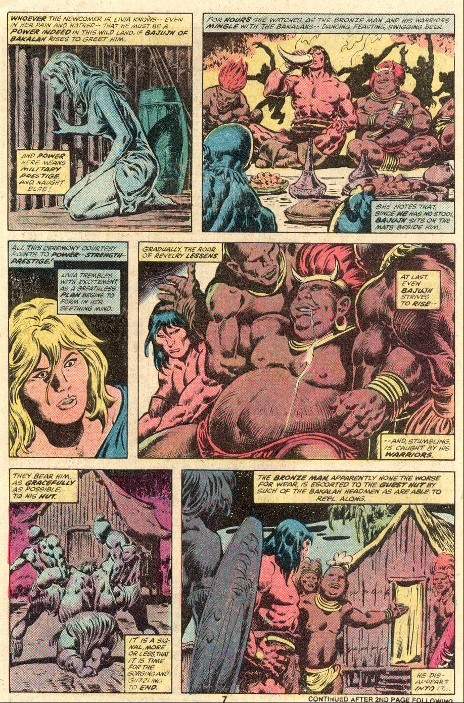 Conan the Barbarian (1970) Issue #104 #116 - English 6