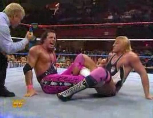 Owen Hart And Bret Hart The dustup between bret and