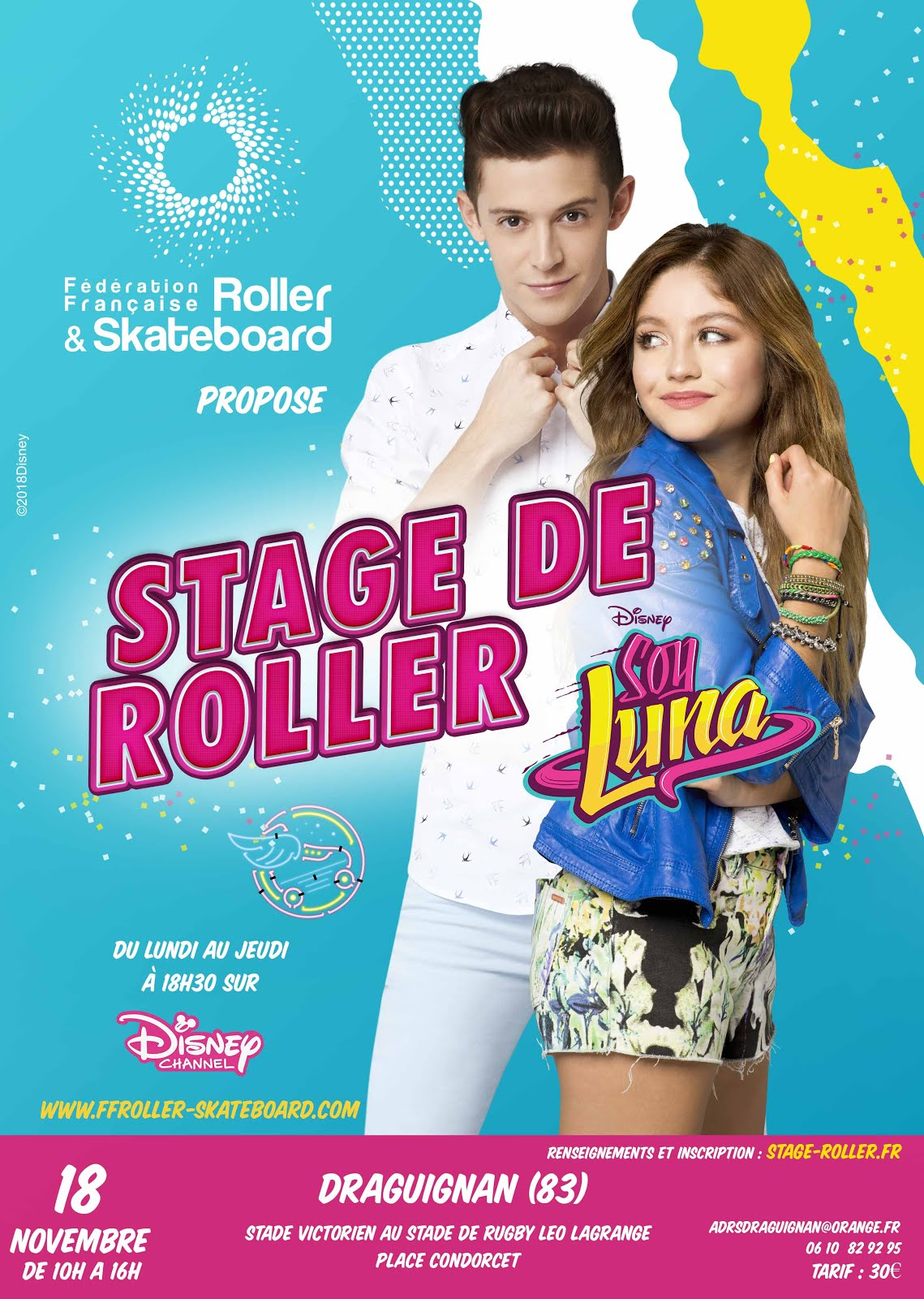 Stage Soy Luna  Inscription          18/11/2018