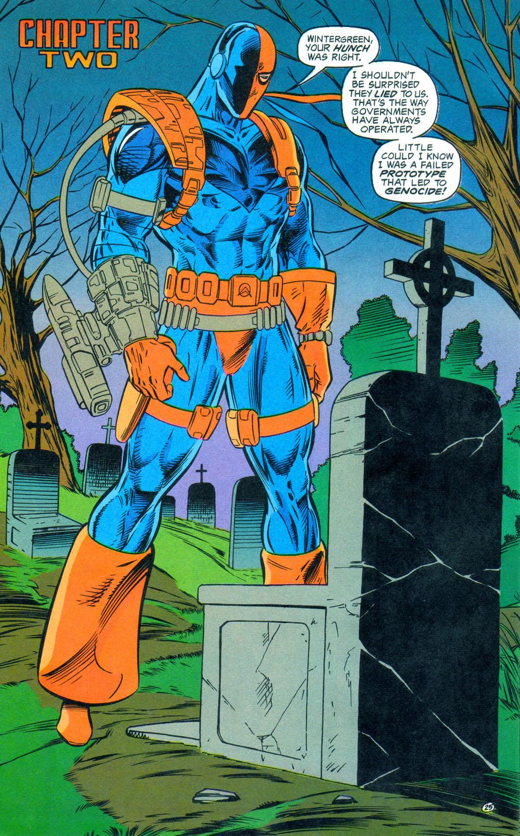 Deathstroke (1991) Annual 3 #3 - English 26