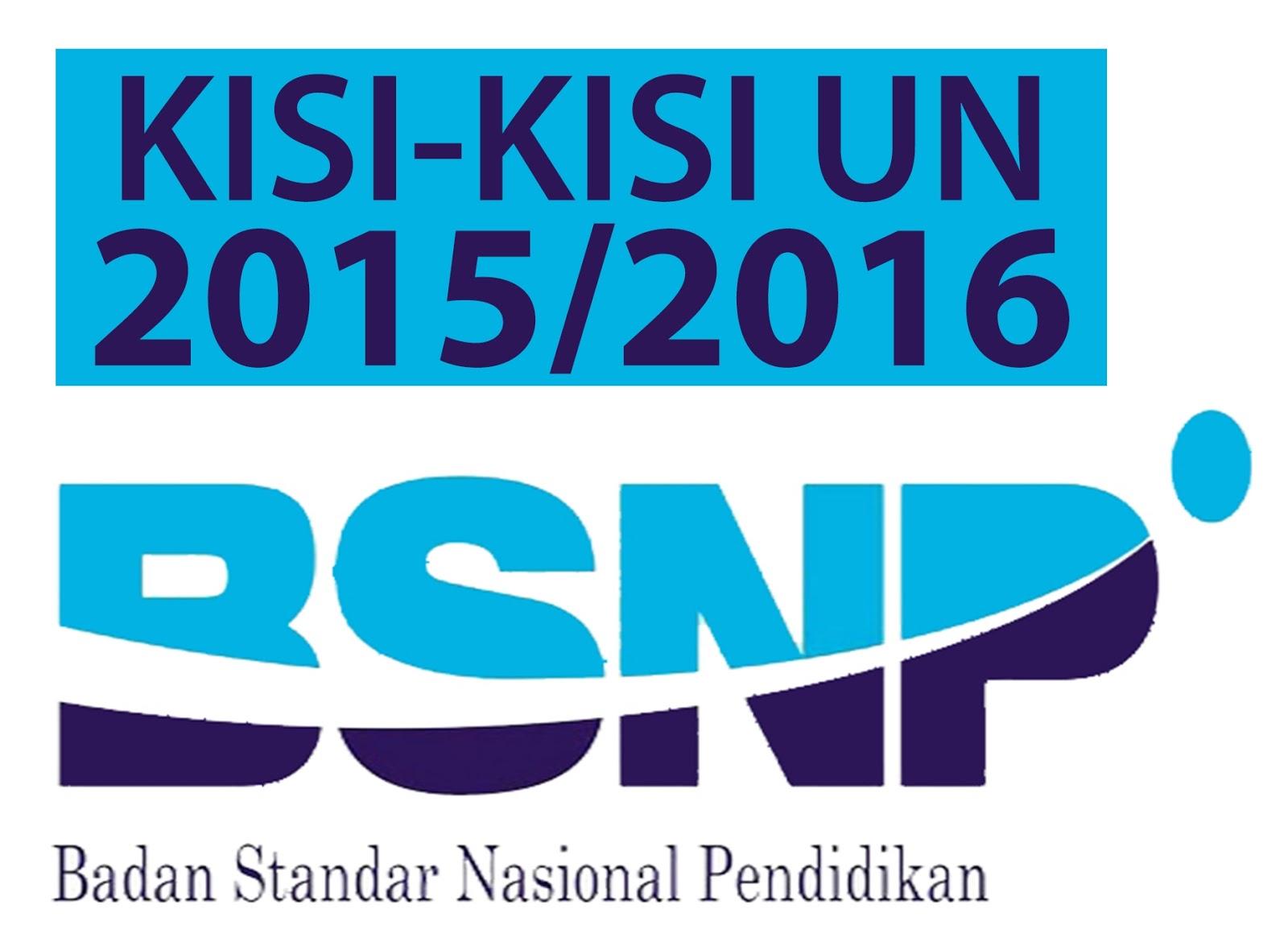 Kisi Kisi Ujian Sekolah Us Sd Mi Tahun Pelajaran 2015 2016 Informasi Amp Administrasi Sekolahmu