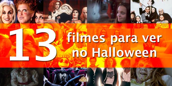 13 filmes para ver no Halloween