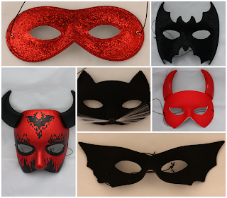 Halloween Masks from Theatrical Threads Ltd