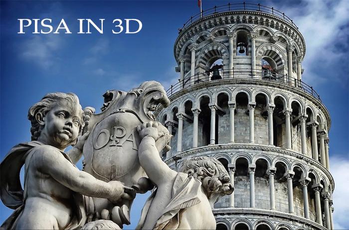 viaggio virtuale dentro la città di Pisa