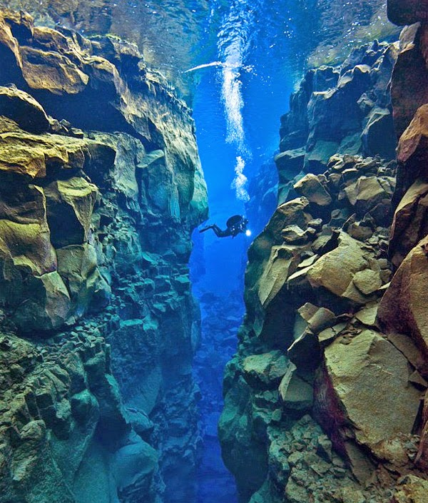 BONUS #2: Dive into the tectonic boundary between North America and Eurasia near Iceland