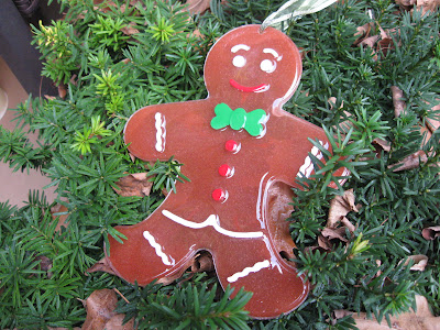 Craft klatch big resin gingerbread man christmas for The actor s art and craft