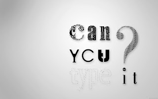 Can You Type It HD Wallpaper