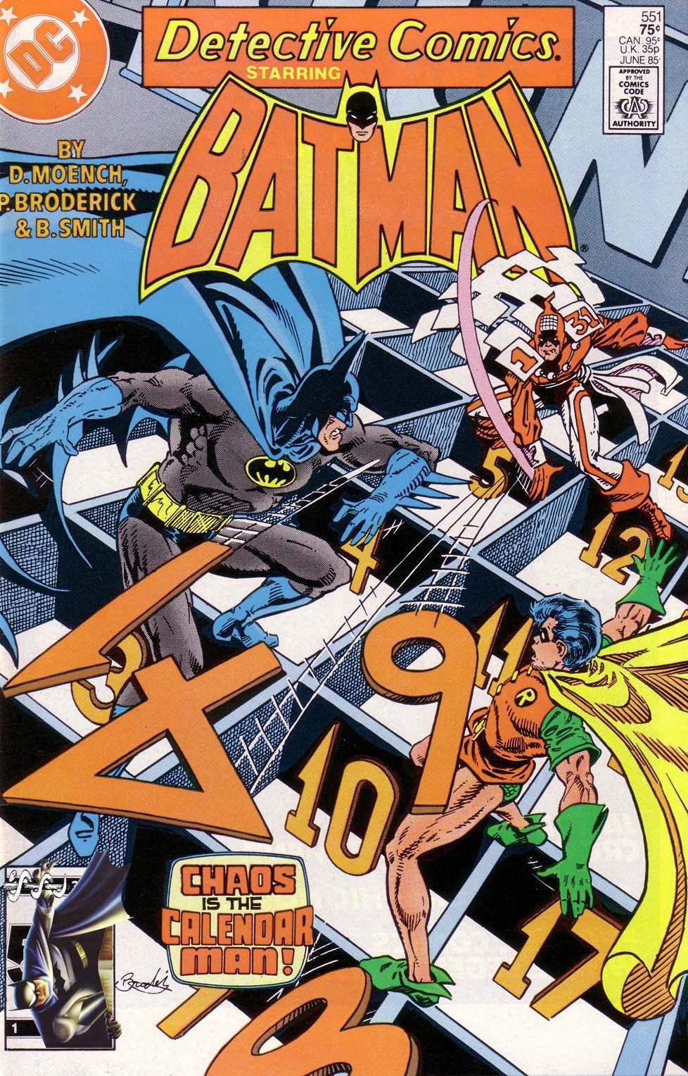 Detective Comics (1937) 551 Page 1