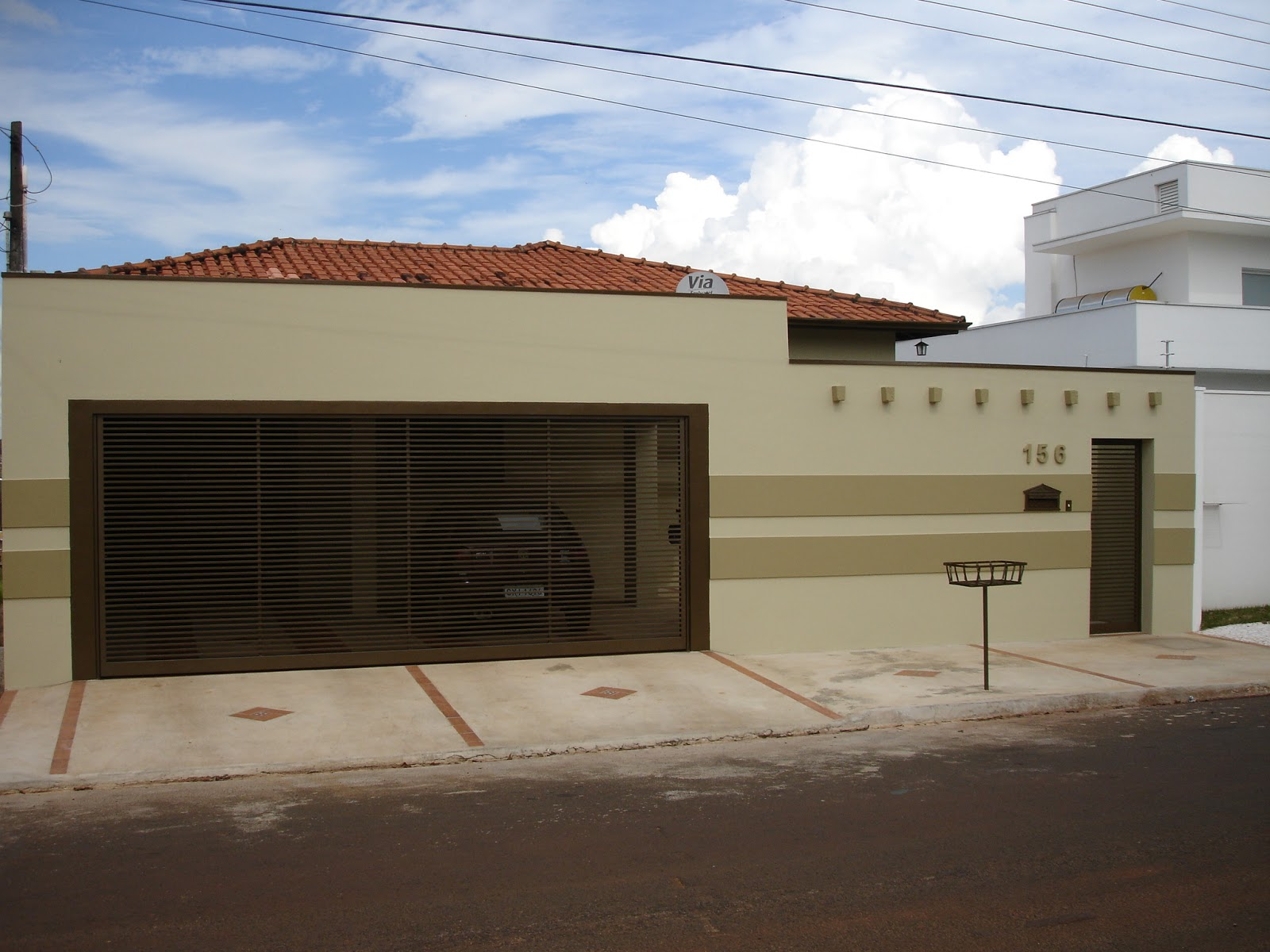 Arquitetura Construção arquiteta Patricia Patricia Lanza São  #3A6091 1600x1200 Banheiro Arquitetura E Construção