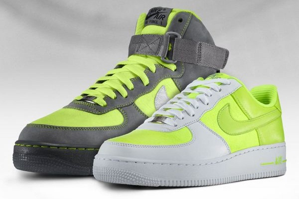 Nike Air Force 1 iD Tennis Ball Options