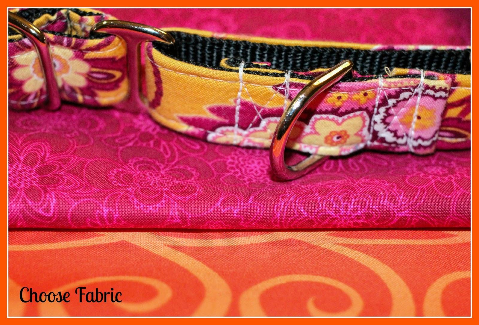 Pitlandia dog collar fabric flower tutorial jeuxipadfo Gallery