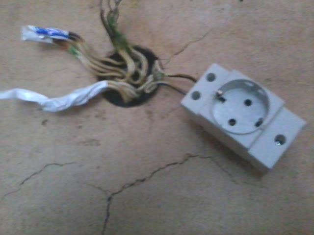 Розетка в щиток на динрейку, фото