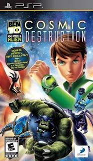 Ben 10 Ultimate Alien Cosmic Destruction [PSP]