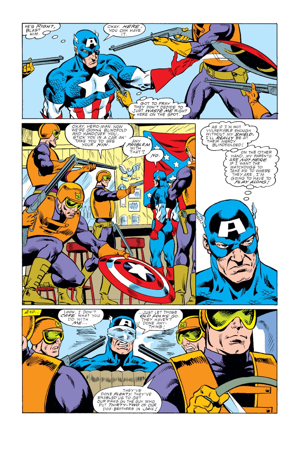 Captain America (1968) Issue #345 #275 - English 16