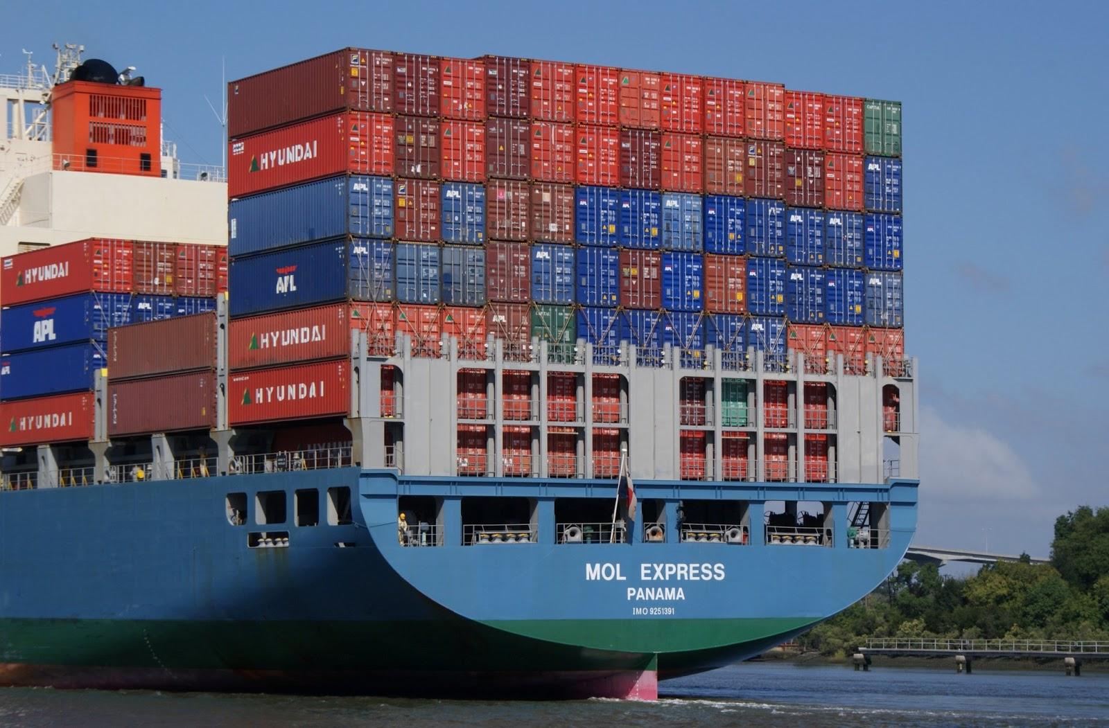 La importancia de los contenedores en la econom a economicasfce - Contenedores de barco ...